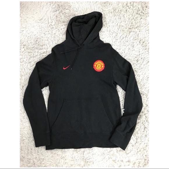 Movimiento Gallina Relacionado  Nike Shirts | Mens Manchester United Hoodie Black M | Poshmark